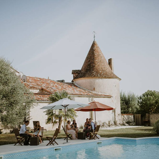wedding ceremony - beautiful castle in france - unique ceremonies
