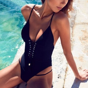 Black Jasmine Swimsuit