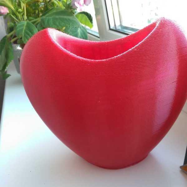 "Red SBS ""Watson"" plastic for 3D printer. 1,75 mm. 0,5 kg."