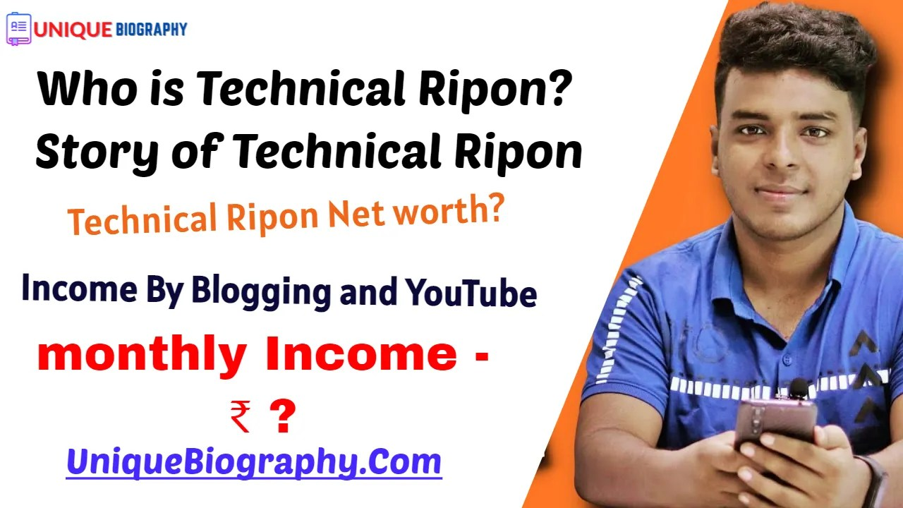 Who is Technical Ripon? Story of Technical Ripon