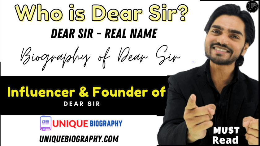 who is the founder of dear sir 1