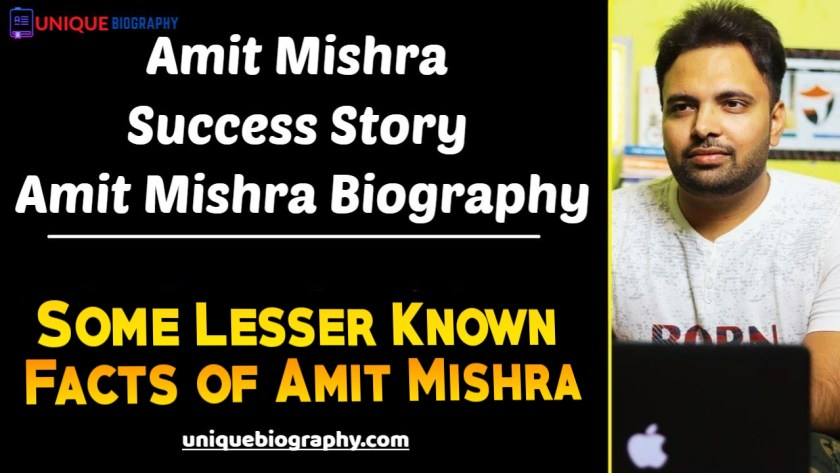 Who is Amit Mishra? Age Family, Profession, Wiki, Biography and More   Tryootech (Amit Mishra) Biography