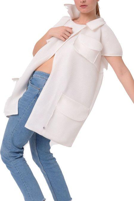 Hybar. Abrigo original para mujer.
