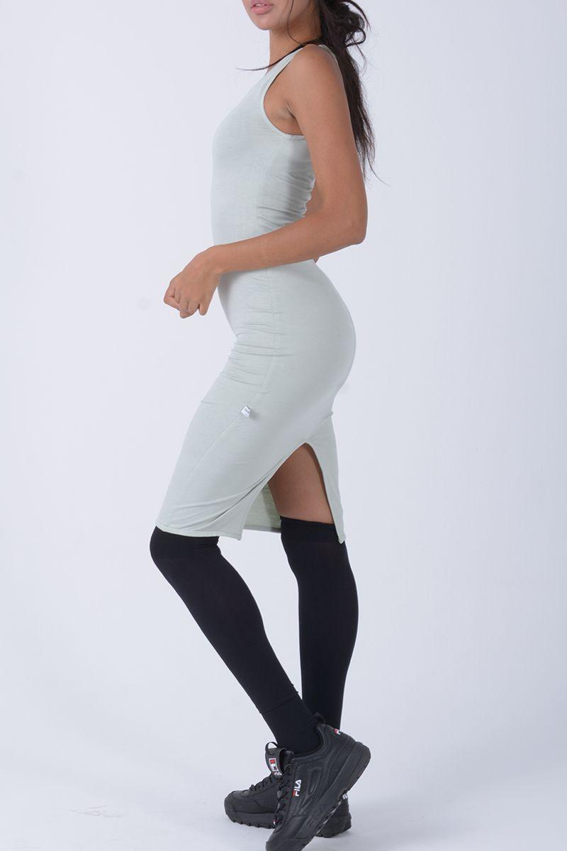 Vestido corto ajustado - Helena