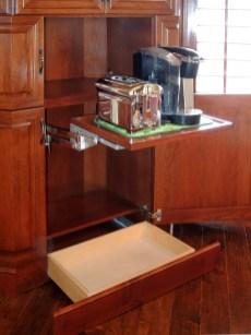 Appliance Lift Shelf