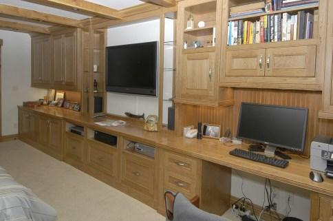 Master Bedroom Cherry Wall Unit
