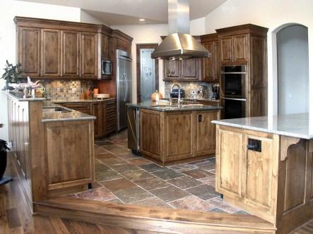 Rustic Alder Cabinetry