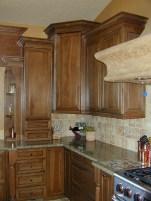 Pecan Cabinetry
