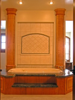 Red Birch Master Bath