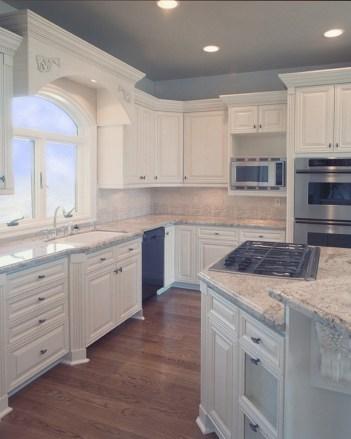 White Enamel Custom Kitchen