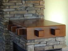 Oak Mantel-Wall Cap