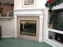 White Mantel
