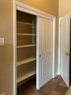 Mud Room Closet Before Modification