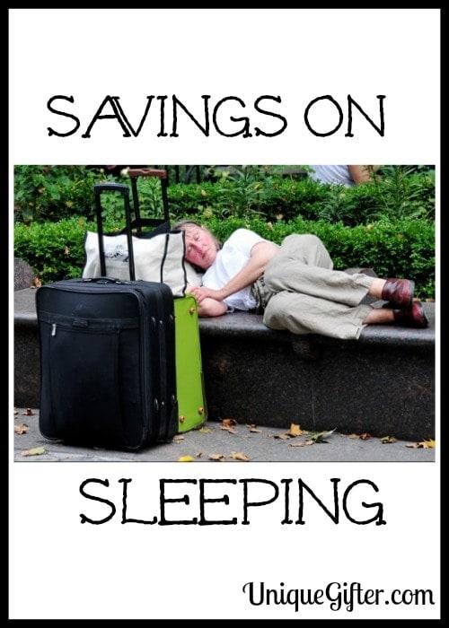 Savings on Sleeping