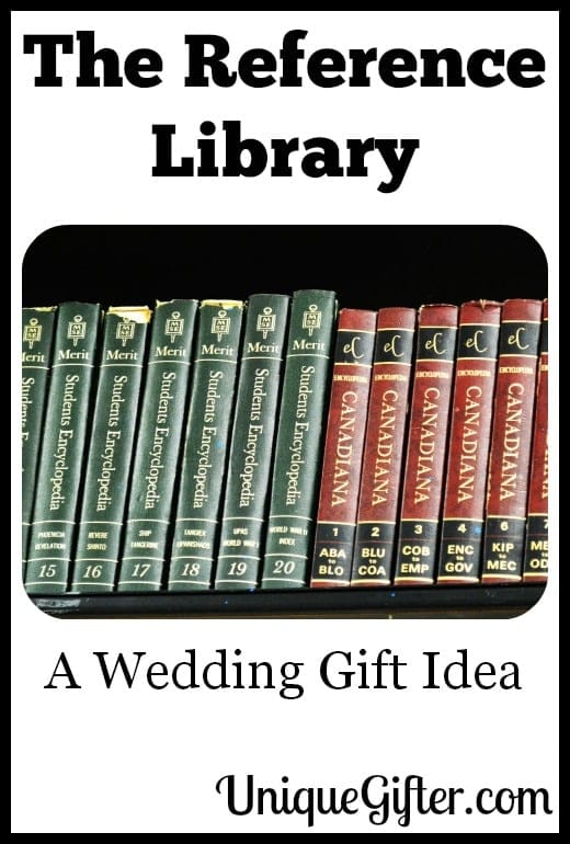 The Reference Library a Wedding Gift Idea