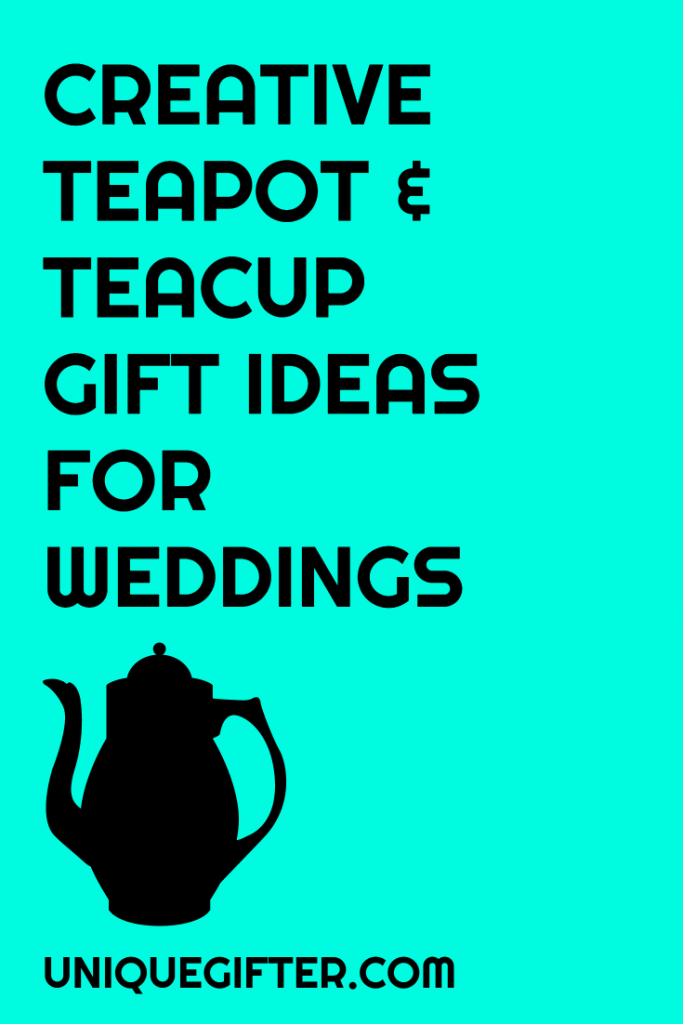 I want to get my friends something from their wedding gift registry, but also make it more fun and personalized. This is a great list of suggestions to add to a teapot or teacups, to give my gift that unique touch, but still give them something I know they want. Pinning this for later!