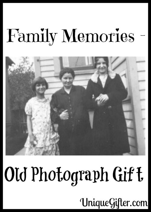 Family Memories - Old Photograph Gift