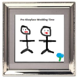 Fake Wedding Picture