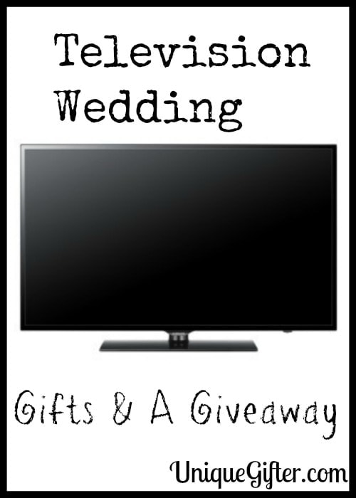 Television Wedding Gifts & A Giveaway