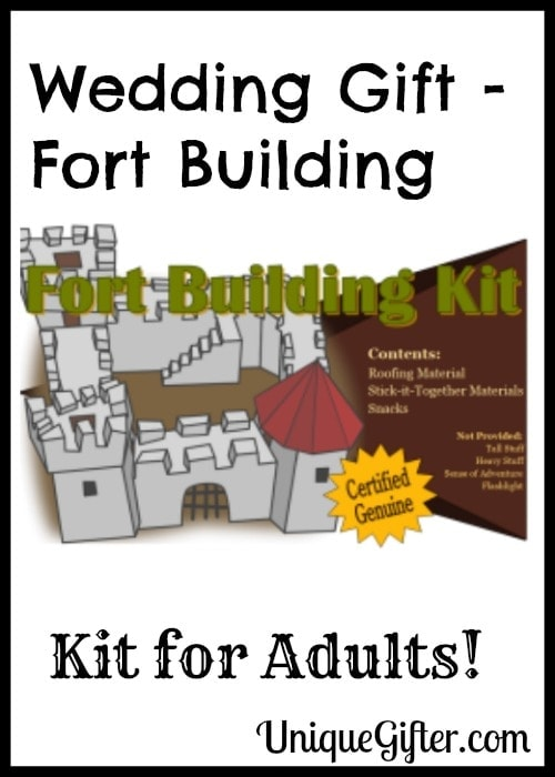 Wedding Gift - Fort Building Kit for Adults!