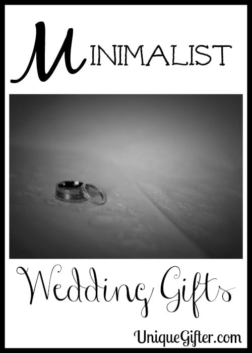 Minimalist Wedding Gifts