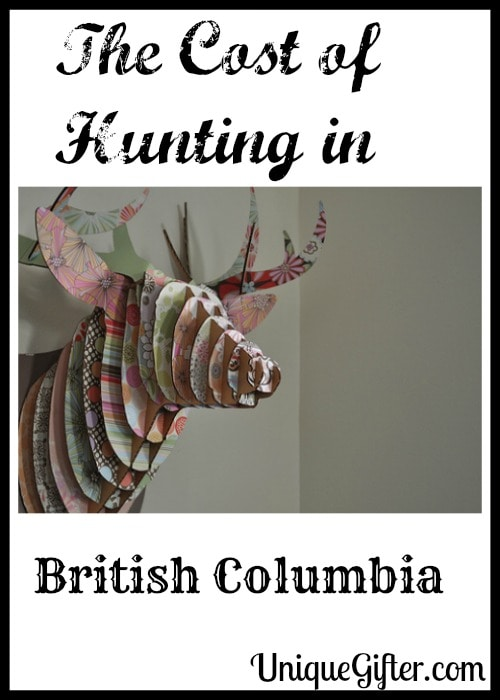 The Cost of Hunting in British Columbia