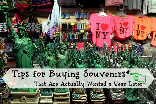 Tips for Buying Souvenirs