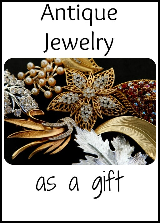 Antique Jewelry as a Gift