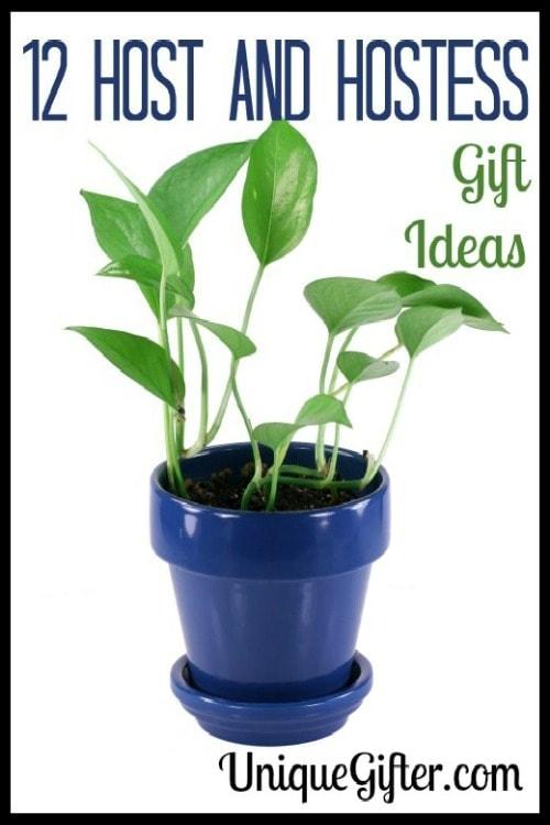 12 Host and Hostess Gift Ideas