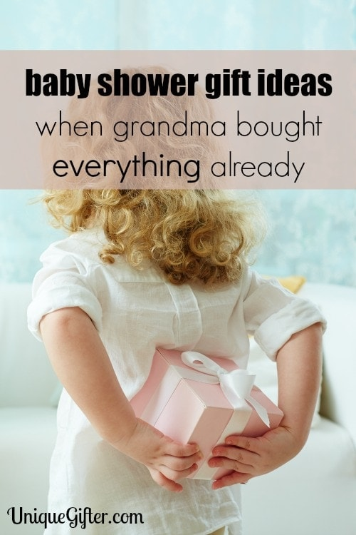 I never know what to get when grandma has bought everything already! These are fantastic baby shower gift ideas.
