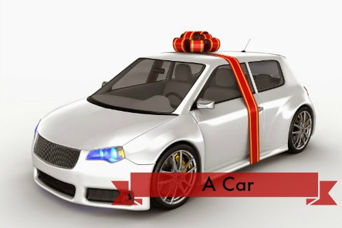 Expensive Wedding Gifts - A Car
