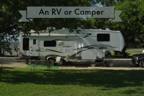 Expensive Wedding Gifts - An RV or Camper