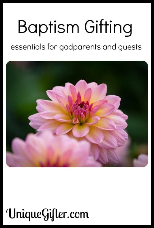 Baptism Gifting - Essentials for Godparents and Guests