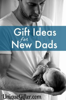 "Finding a baby gift that has that ""Dad"" characteristic can be difficult. This HUGE selection of Gifts for New Dads has a little something for everyone."