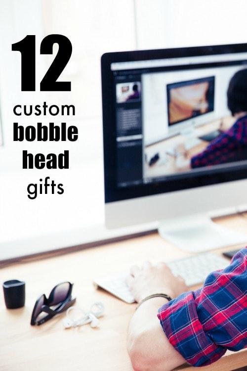 12 rad custom bobble head gifts, perfect for Christmas!