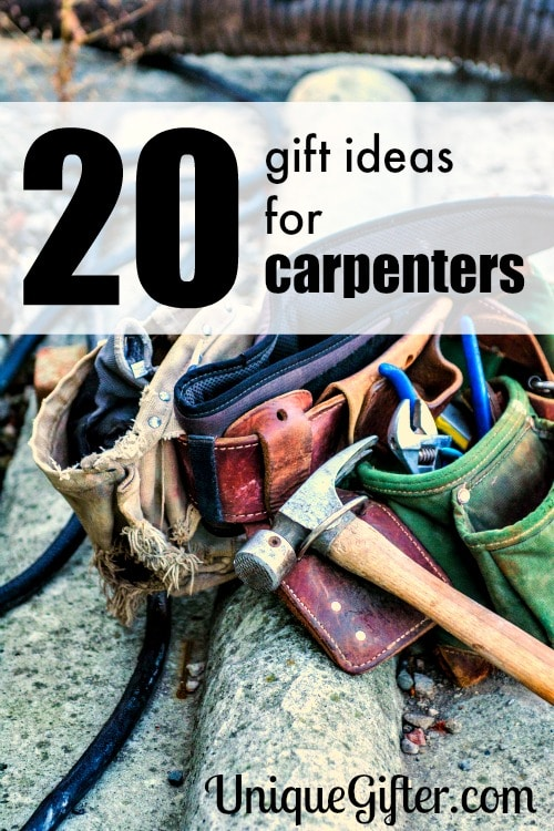 So many great gift ideas for carpenters. I love number 20 and can't wait to get it as a birthday present for someone.