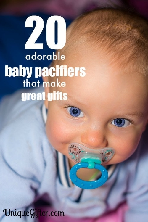 These pacifiers are so cute! I'm going to stock up for baby shower gifts, especially on #2.