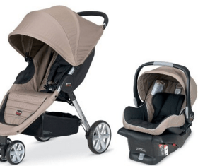 Strollers make great push presents for new moms