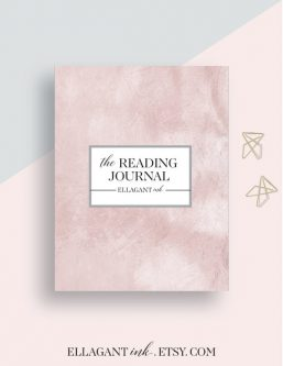 Reading journal Gift Ideas for the Letter R
