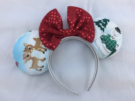 Gift Ideas for the Letter R - Rudolph Minnie Mouse Ears