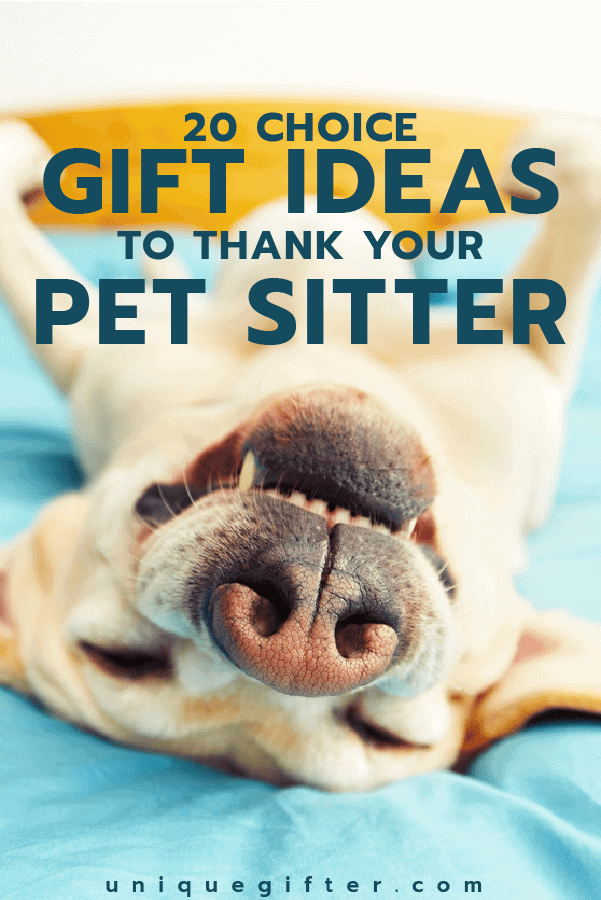 Thank You Gifts for Pet Sitters | Pet Sitting | Thank Yous | Appreciation | Dog Walker | Dog Walking | Christmas Presents