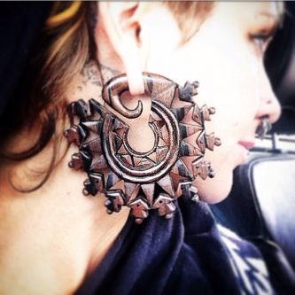 Gift Ideas for the Letter M - Mandala Earrings