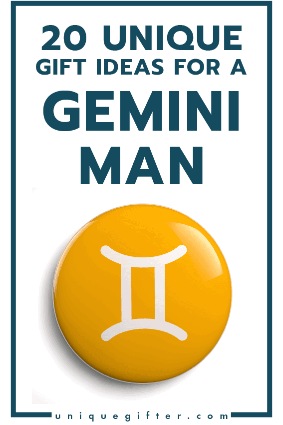 Gift Ideas For A Gemini Man