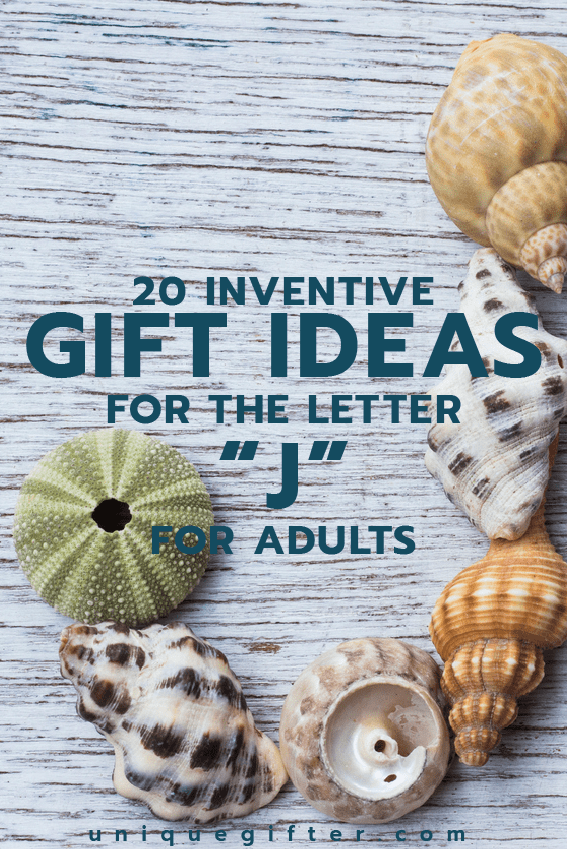 Setting up the world's best scavenger hunt? Use these inventive gift ideas that start with the letter J. | Birthday | Anniversary | Adult | Gifts that begin with the letter J