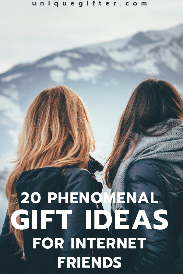 These Gift Ideas For Internet Friends Are The BEST
