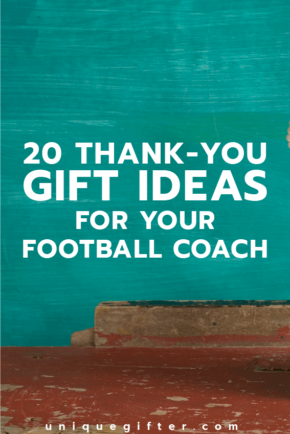 Thank you Gift Ideas for your Football Coach | Ways to Thank Coaches and Mentors | NFL | American Football