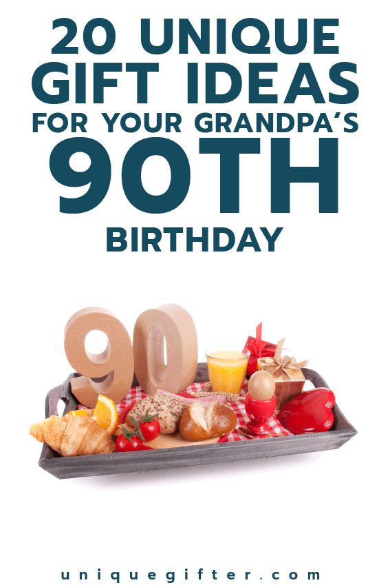 90th Birthday Gift ideas for Grandpa | Milestone Birthdays for Him | Gifts for Men | Big Birthday Ideas | Creative Presents for a 90th Birthday | Family Gift Ideas