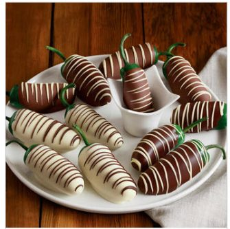Gift Ideas for Your Husband's 30th Birthday - Chocolate covered jalapenos