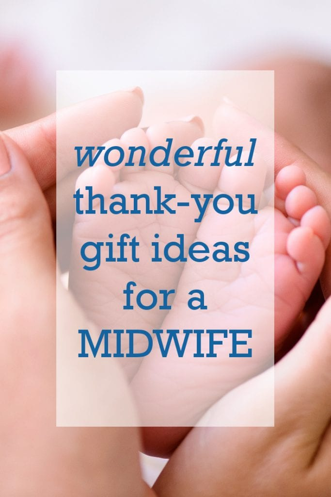 Wonderful thank you gift ideas for a midwife | Presents for midwives | What to get a midwife after a birth | Doula gifts