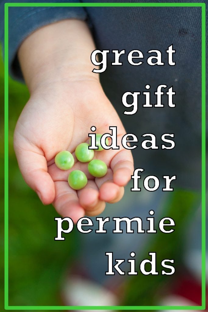 Great Gift Ideas for Permie Kids | Permaculture Gift Ideas | Green Gifts for Children | Eco-friendly Birthday Presents for Kids | Christmas presents for kids who love to garden